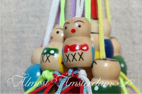 Lucky Dolls with Handmade Tags