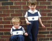 Boys Embroidered Team Boutique Longalls - Choose your team