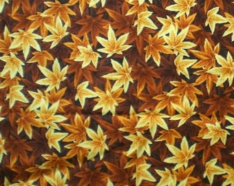 "Autumn Leaves or Orange Gourds on 20"" Square Cloth Napkins - HANDMADE"