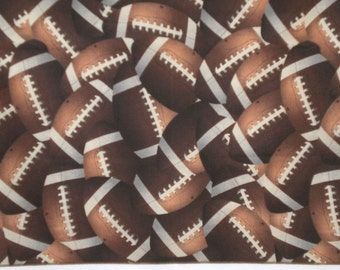 Footballs Large 20 Inch Napkin - Set of 4 More Available