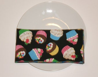 Cupcake 20 Inch Large Cloth Napkins - Set of 4  - HANDMADE - More Available