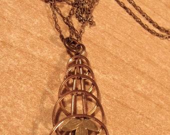 Be Elemental.... Vintage Antique Gold Filled Lavaliere