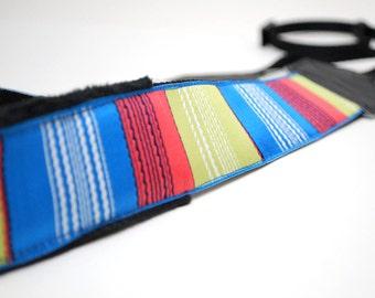 Camera Strap slr - DSLR Camera Strap - Chunky Stripes