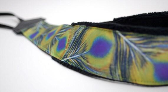 Camera Strap - Photographer Gift - dslr Camera Straps - Peacock