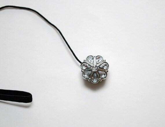 Sassy CAP Strap- Teardrop Crystals