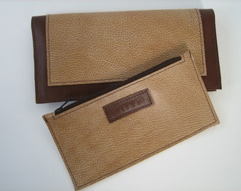Brown Leather City Wallet
