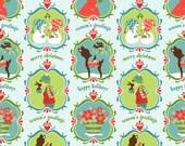 Alpine Wonderland Blue Wonderland C2901 Quilting Fabric by Sheri McCulley for Riley Blake - 1 yard
