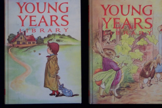 Reduced - Five Volume Set - 1963 Young Years Library - First Edition