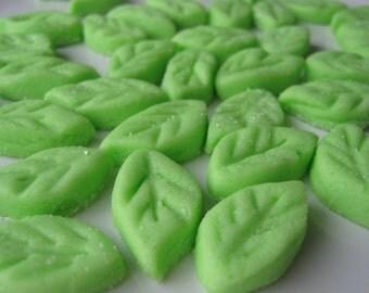 MINI LEAVES - Cream Cheese Mints - 6 Dozen