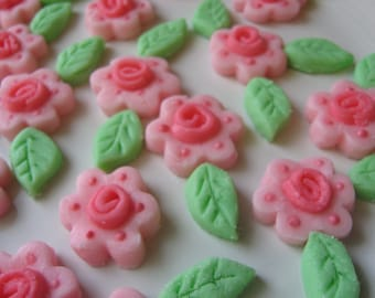 Grandma's Old Fashion Roses Mints - Cream Cheese Mints - Special Occasions, Weddings, Parties  - 6 dozen