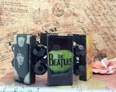 Beatles Domino Resin Stretch Bracelet