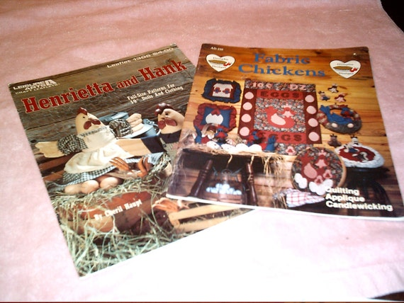 Book Cover Sewing Supplies : Chicken pattern books patterns sewing supplies two