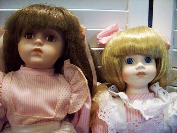 Vintage Porcelain Dolls Seymour Mann