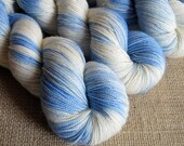SALE - Patronus - SW Merino, Nylon & Stellina Fingering Sparkle Yarn - Hand Dyed - 438 yds