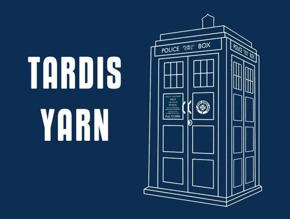 RESERVED for aJoyfulGirl - Tardis Blue Fingering Sock Yarn