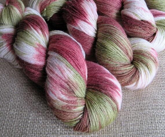 SALE - Arthur Weasley - Merino Silk Fingering Sock Yarn - Hand Dyed - 440 yards