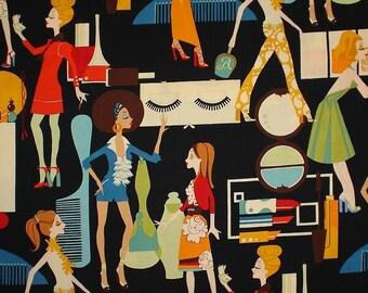 Yard of Alexander Henry Fabric Cover Girls