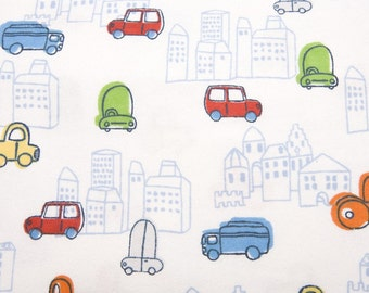 City Scape - Flannel Fabric - BTY