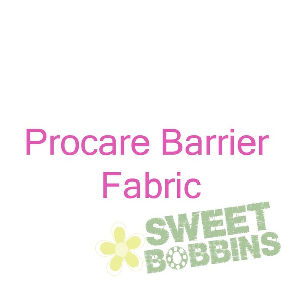 Procare Barrier Fabric - BTY - WHITE - 36 inch wide