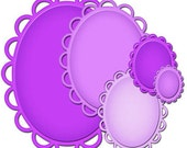 Spellbinders - Nestabilities and Decorative Elements Lacey Ovals