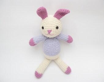 Soft Bunny Toy, Amigurumi Bunny, Crochet Bunny, Bunny Plush, Easter Bunny Gift