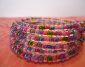 Green, Blue, Yellow, Lavender, Coral, Pink and More Wrap Bracelet