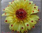 Indian Summer Sunflower Clip