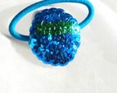 Blue Easter Egg Ponytail
