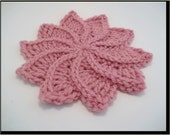 Twirlagig Spiral Flower PDF Crochet Pattern-Instant Download