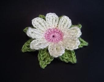 Gerbera Daisy Dukes Flower Crochet Pattern