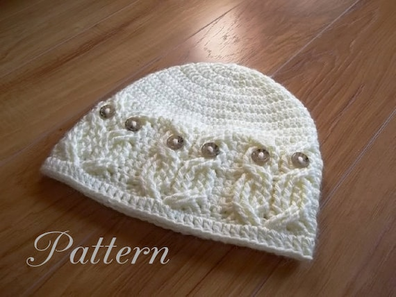 Crochet Baby Girl Owl Hat Pattern : Crochet PATTERN-Its a Hoot Owl Hat. Adult baby and