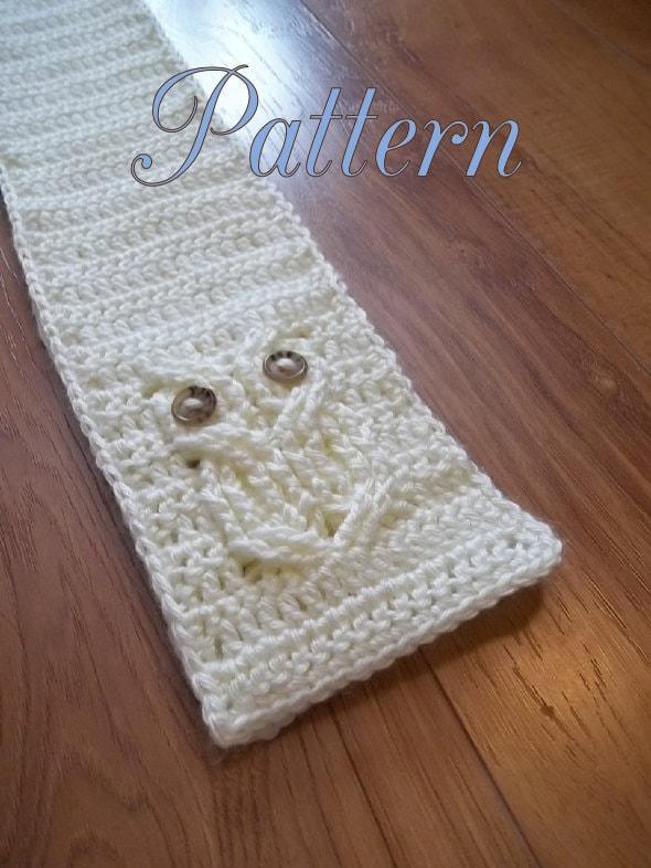 Free Crochet Cable Owl Hat Pattern : Its a Hoot An Owl Scarf Crochet Pattern child and adult
