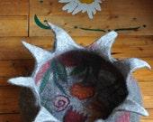 wonderful art piece cat basket