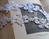 Custom Order - Ivory Headband white lace, Gypsy Love, Headband, wedding hair, hair accessory, resort, prom, spring