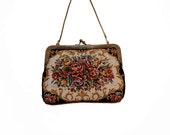 Vintage Flower antique purse.