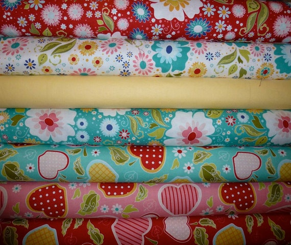 Apple of my Eye from Riley Blake- 7 Fat Quarters  SALE