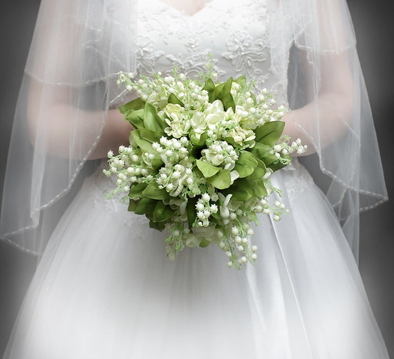 Lilies of The Valley Bouquet Bridal Bouquet of Lily of