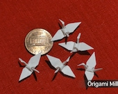 1 inch white cranes (100 pieces)