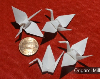 2 inches white cranes (100 pieces)