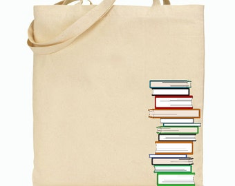 Eco Friendly Canvas Tote Bag - Reusable Grocery Bags - Fun Canvas Bag - Book Bag