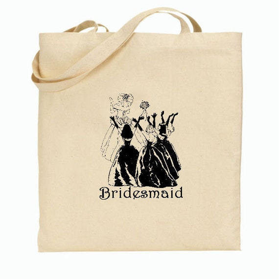 Items For Wedding Gift Bag : Items similar to 4 Bridesmaid Gift BagsWelcome Bags for Wedding ...