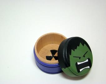 My Geeky Box - Hand Painted Wood Box