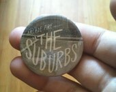 The Suburbs Arcade Fire Pinback Button