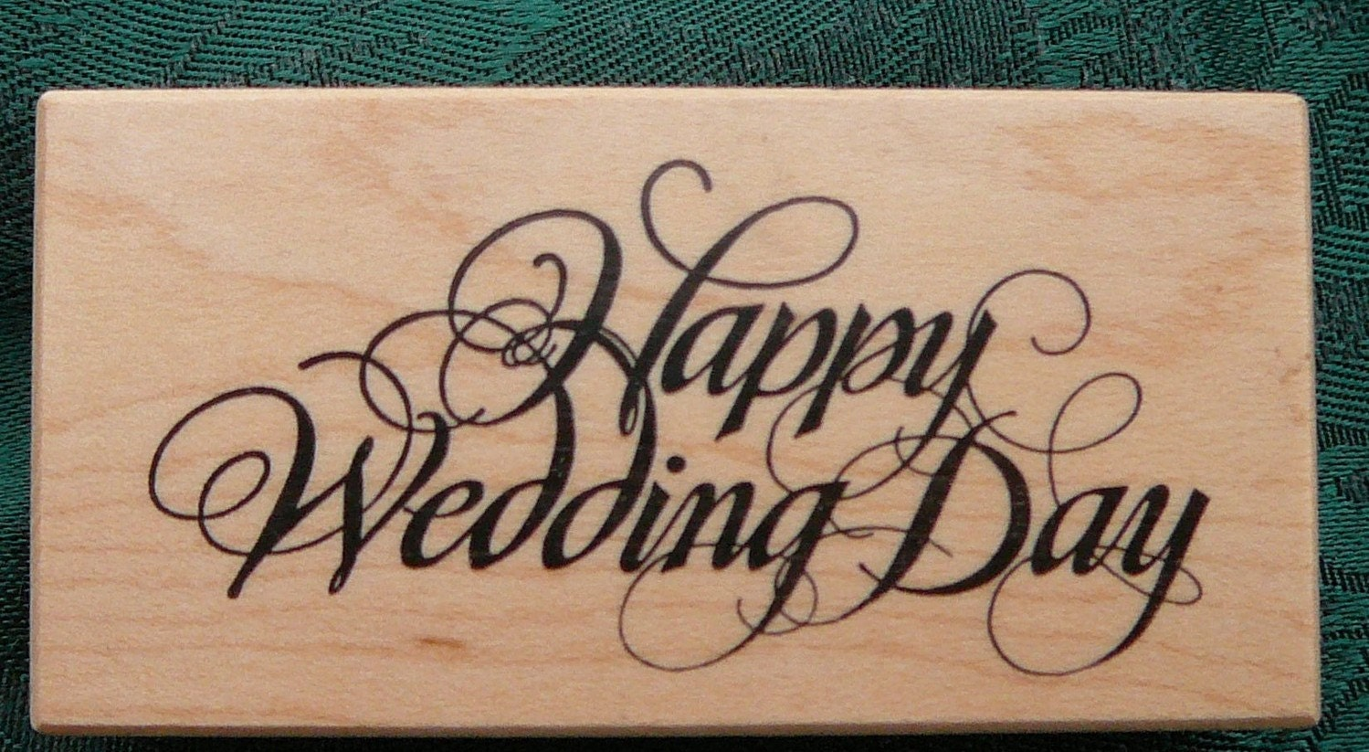 Happy wedding day psx rubber stamp new for Wedding dress rubber stamp