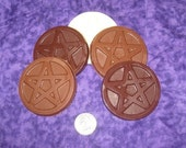 Chocolate Pentacles (two pack)
