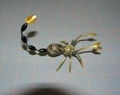 Black and Gold Plated Scorpion SCO03 FREE SHIPPING