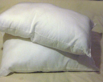 Cotton Toddler/travel pillow