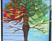 Tree of Life Goddess Mosaic