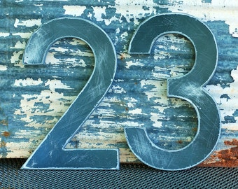 Oversize Aluminum Numbers or Letters