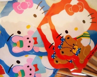 Hello Kitty. 1988 Sanrio. 10 Cupcake Toppers